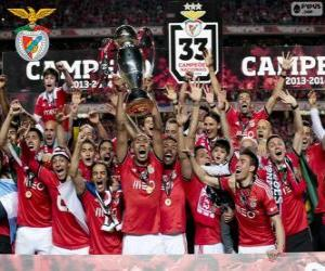 Układanka Benfica, mistrz 2013-2014