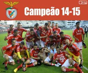 Układanka Benfica, mistrz 2014-2015