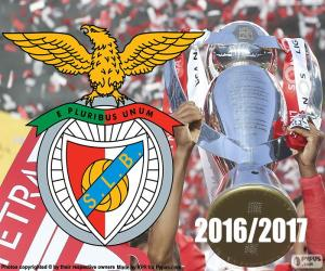 Układanka Benfica, mistrz 2016-2017
