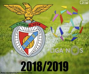 Układanka Benfica, mistrz 2018 2019 r.