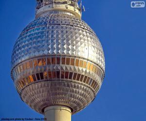 Układanka Berliner Fernsehturm, Niemcy