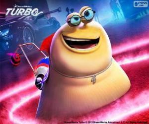 Układanka Biały Cień z Turbo film