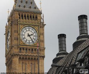 Układanka Big Ben, Londyn