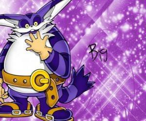Układanka Big the Cat, dużych Kot, który pojawia się w Przygody Sonic