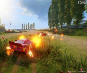 Układanka Bitwa, gry wideo Auta 3