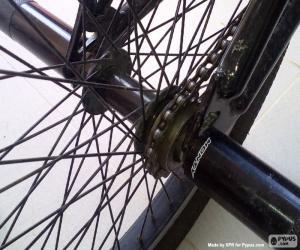 Układanka BMX tylne koło