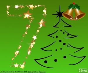 Układanka Boże Narodzenie, numer 7