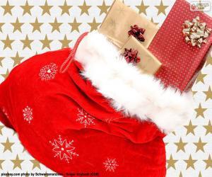 Układanka Boże Narodzenie worek