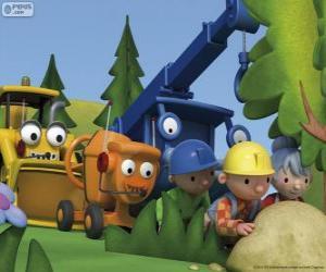 Układanka Bob Budowniczy i jego przyjaciele