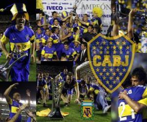 Układanka Boca Juniors, mistrz turnieju Apertura 2011, Argentyna