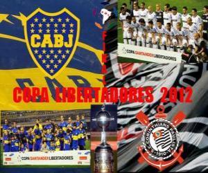 Układanka Boca Juniors vs Corinthians. Copa Libertadores Finał 2012