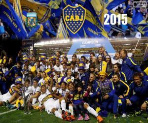 Układanka Boca, mistrz 1st Division 2015