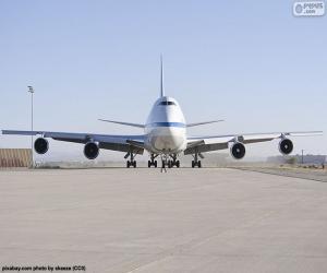 Układanka Boeing 747SP
