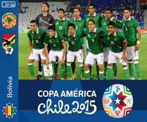 Układanka Boliwia Copa America 2015