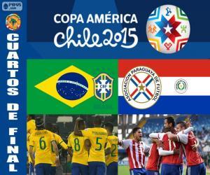 Układanka BRA - PAR, Copa America 2015