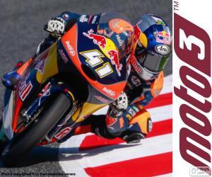 Układanka Brad Binder, Moto3 2016