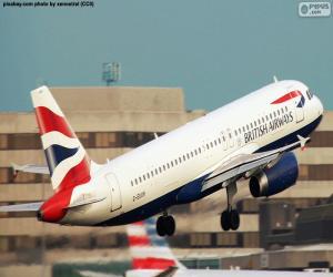 Układanka British Airways, Wielka Brytania