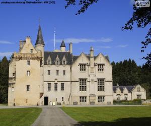 Układanka Brodie zamku w Szkocji