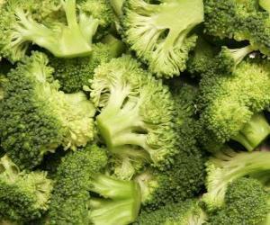 Układanka Brokuły
