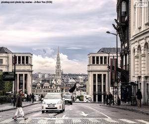 Układanka Bruksela, Belgia