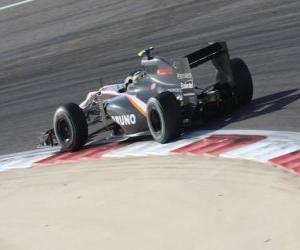 Układanka Bruno Senna - HRT - Bahrajn 2010
