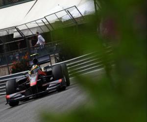 Układanka Bruno Senna-HRT - Monte-Carlo 2010