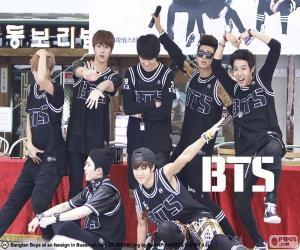 Układanka BTS, Bangtan Boys