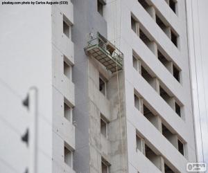 Układanka Budynek w budowie
