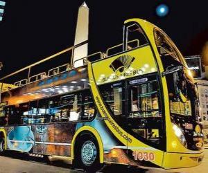 Układanka Buenos Aires autobus turystyczny