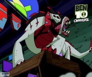 Układanka Buglizard jest Nemetrix cudzoziemców, Ben 10 Omniverse
