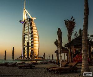 Układanka Burj Al Arab Jumeirah, Dubaj