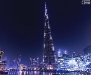 Układanka Burj Khalifa, Dubai
