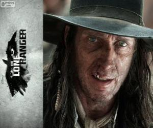 Układanka Butch Cavendish (William Fitchner) w Film Lone Ranger