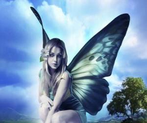 Układanka Butterfly Fairy