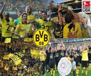 Układanka BV 09 Borussia Dortmund, mistrzowie Bundesliga 2010-11