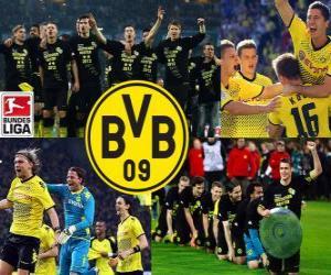 Układanka BV 09 Borussia Dortmund, Mistrz Bundesligi 2011-12