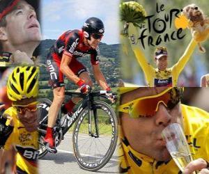 Układanka Cadel Evans 2011 Tour de France Champion