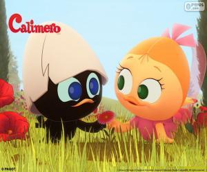 Układanka Calimero i Priscilla