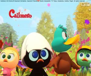 Układanka Calimero z przyjaciółmi