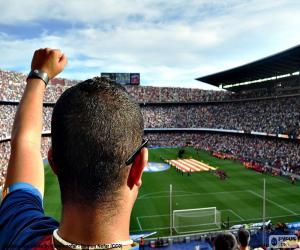 Układanka Camp Nou, Barcelona