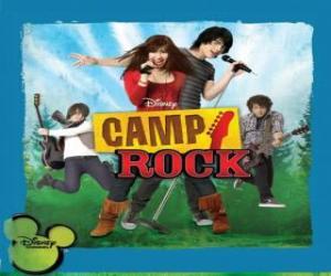 Układanka Camp Rock