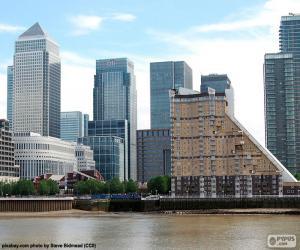 Układanka Canary Wharf, Londyn