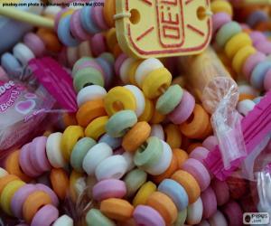 Układanka Candy naszyjnik