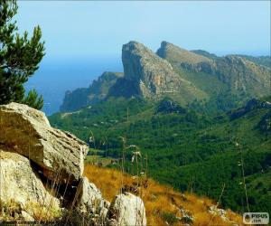 Układanka Cap de Formentor, Majorka