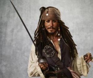 Układanka Captain Pirat