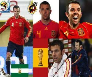 Układanka Carlos Marchena (niezwyciężony) Hiszpański zespół obrony