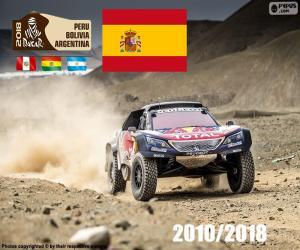 Układanka Carlos Sainz Dakar 2018