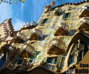 Układanka Casa Batlló, Barcelona
