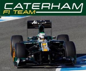 Układanka Caterham CT01 - 2012 -