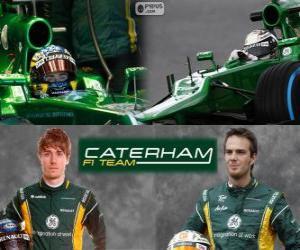 Układanka Caterham F1 Team 2013